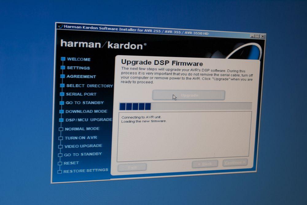 Opdatering af Harman Kardon AVR 255jenslauridsen.dk ...